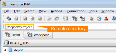 Perforce Repository Integration Setup