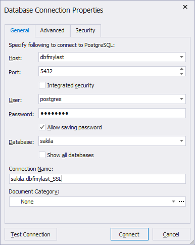 Creating SSL Connection